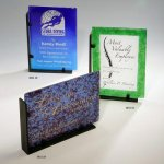 Recycled Rectangles Art Glass