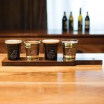 Beer Tasting Set, 5-Piece Barware Stemware