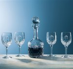 Aristocrat Wine Set, 5-Piece Barware Stemware