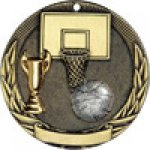 Tri-Colored Series Medals -Basketball Basketball