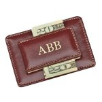 Brown Card Holder/Money Clip Business Card Holders
