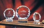 Sunrise Clear Crystal and Glass Awards