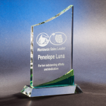 Melrose Clear Crystal | Glass Awards