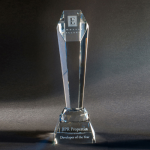 Larchmont Clear Crystal | Glass Awards