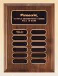 American Walnut Perpetual Plaque Corporate Awards