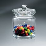Crystalline Candy Jar with Lid (Lead-Free) Corporate Crystal Awards