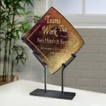 Bronze Iridescence Crystal and Glass Awards
