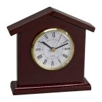 Wood Tower Clock  Desk and Mantle Clocks