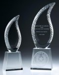 Harmony Flame Crystal Award Fire | Safety | Military