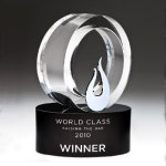 Galaxy Flame Crystal Award Fire | Safety | Military