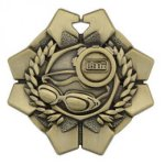 Imperial Medals -Swimming  Football