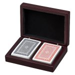 Wood Playing Card Box Misc. Gift Awards