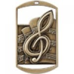 Dog Tag Medals -Music Music