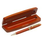 Everett Wood Pen with Rosewood Box  Pens and Pencils