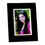 Wood Frame with Silver Inner Border Photo Gift Items | Frames