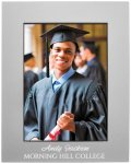 Anodized Aluminum Picture Frame-Gray Photo Gift Items | Frames