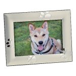 Puppy Paw Print Frame  Photo Gift Items   Frames