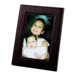 Brown Leatherette Frame  Photo Gift Items | Frames