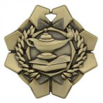 Imperial Medals -Lamp of Knowledge  Scholastic Awards