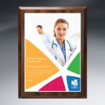 Choice of Digi-Color Plate on Economy Board Square | Rectangle
