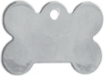 Stainless Steel Bone Shaped Pet Tag Tags