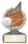 Multi Color Sport Resin Figure -Volleyball Volleyball