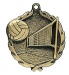 Wreath Medal -Volleyball Volleyball