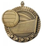 Star Medals -Volleyball Volleyball