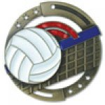 M3XL Series Medals -Volleyball  Volleyball